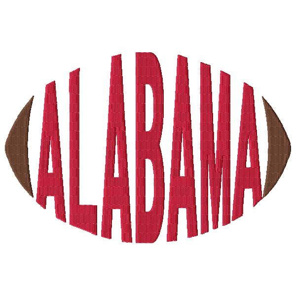 Alabama Football Word