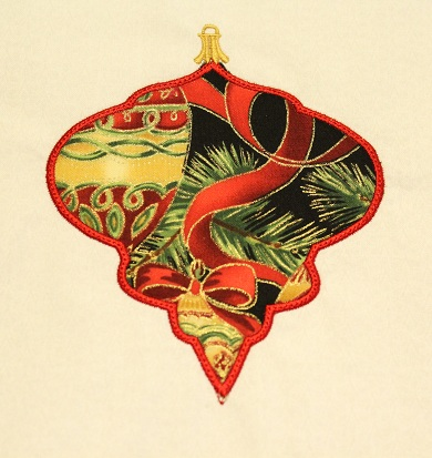Applique Ornament 7