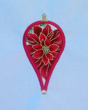 Applique Christmas Ornament 4