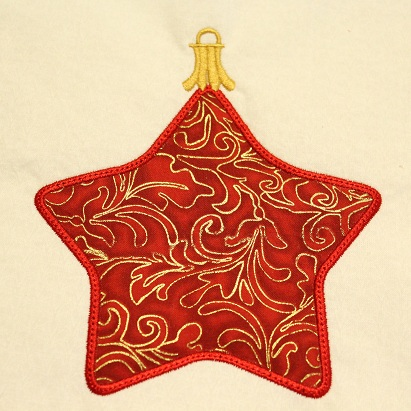 Star Ornament Applique
