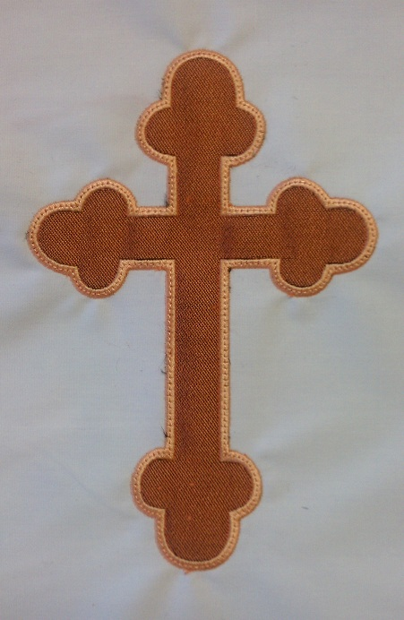 Applique Cross 1