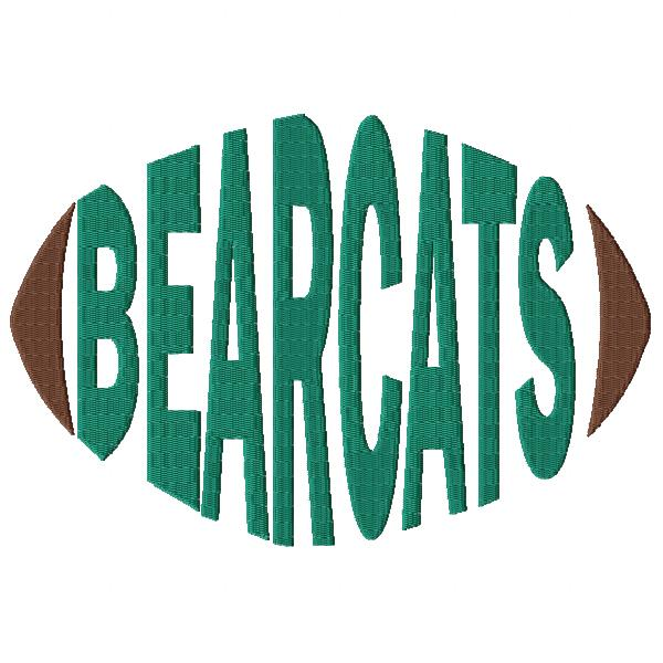 Bearcats Football Word
