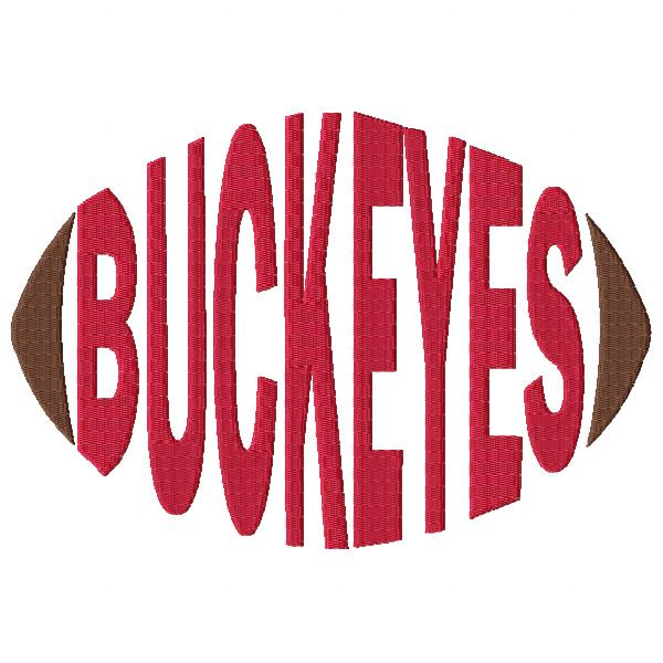 Buckeyes Football Word
