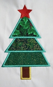 Applique Christmas Tree 2
