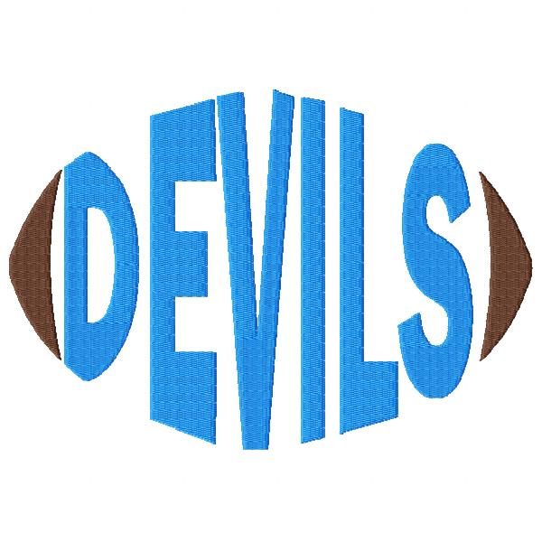 Devils Football Word