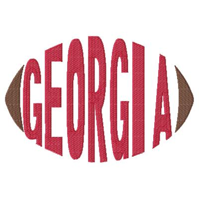 Georgia Football Word