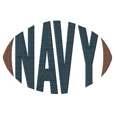 Navy Football Word