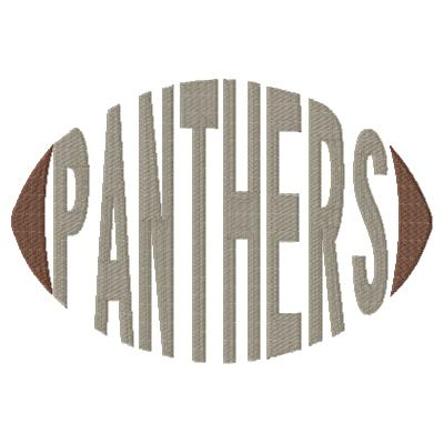 Panthers Football Word