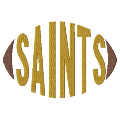Saints Football Word