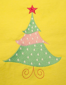 Dotted Christmas Tree