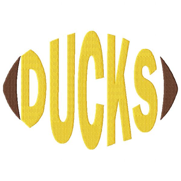 Ducks Football Word