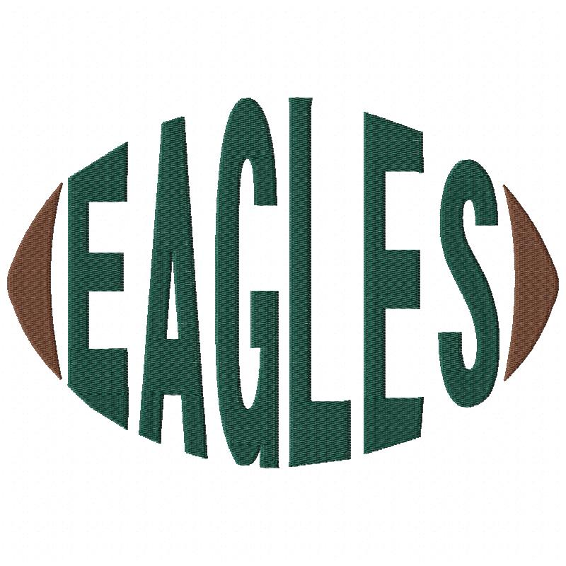 Eagles Football Word