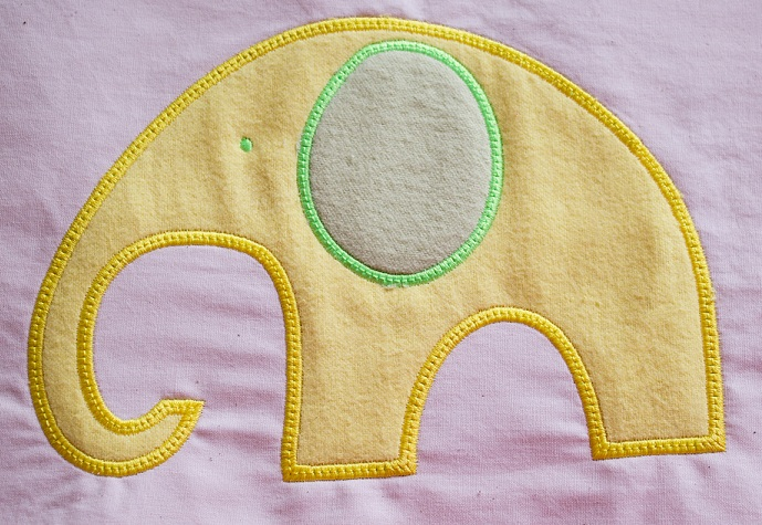 Applique Elephant 1