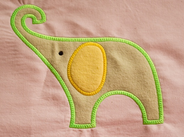 Applique Elephant 2