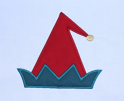 Elf Hat Applique