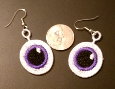 FSL Eyeball Earrings