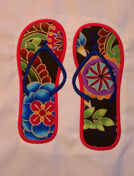 Flip Flop Applique 1