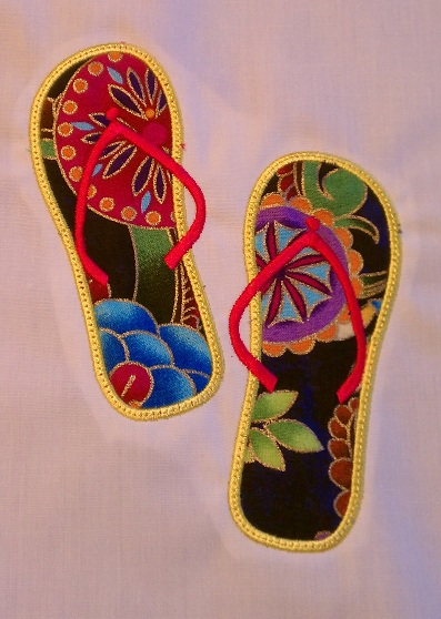 Flip Flop Applique 3