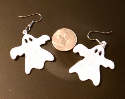 FSL Ghost Earrings