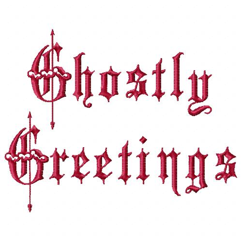 GhostlyGreetings