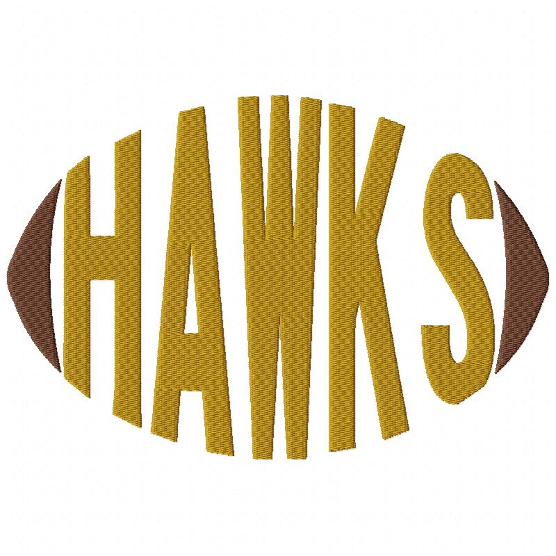 Hawks Football Word
