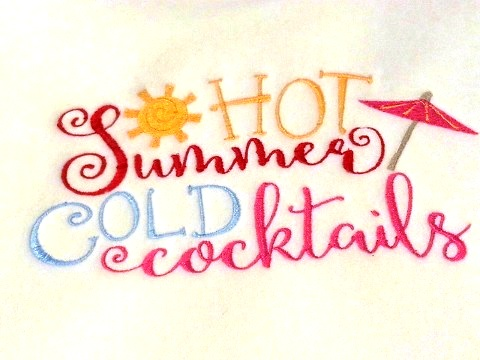 Hot Summer Cold Cocktails