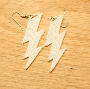 Lightening Bolt Earrings