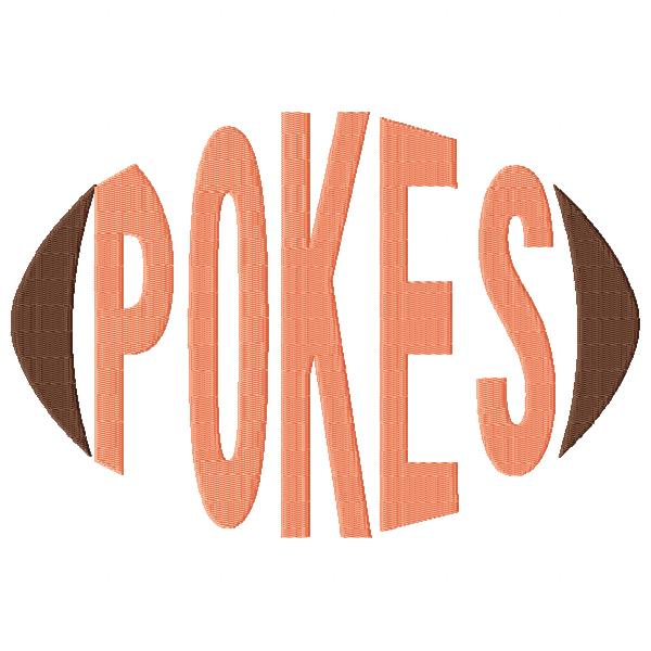 Pokes Football Word