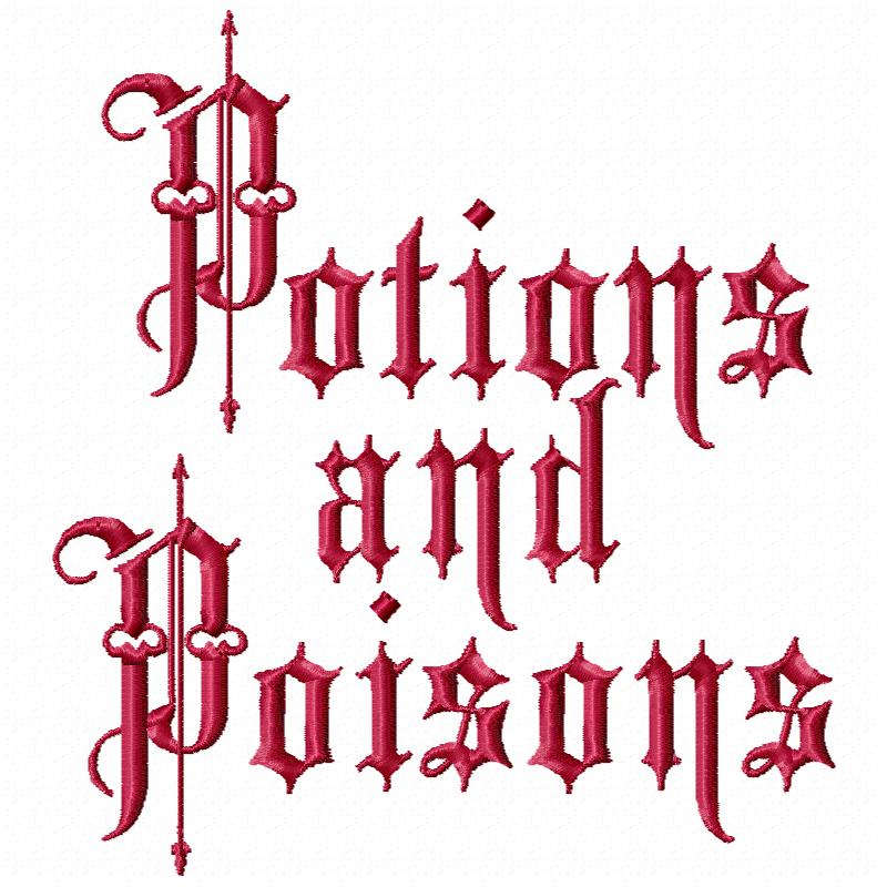 Potions and Poisons
