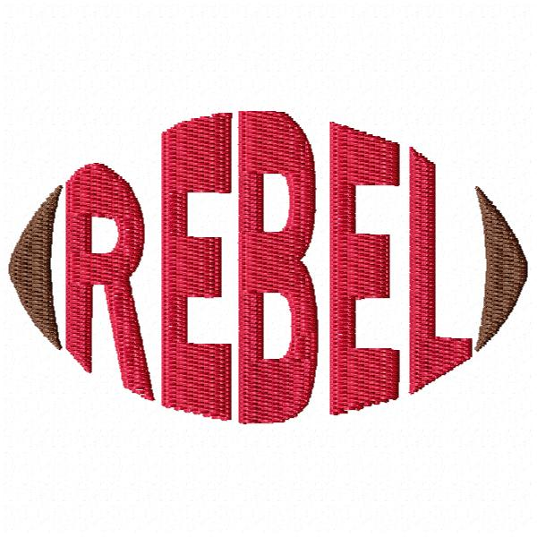 Rebel Football - Cap
