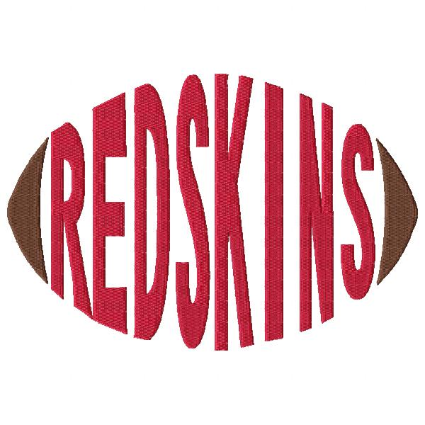 Redskins Football Word