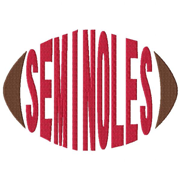 Seminoles Football Word