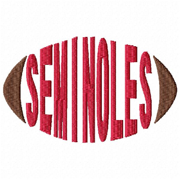Seminoles Football Word - Cap Size