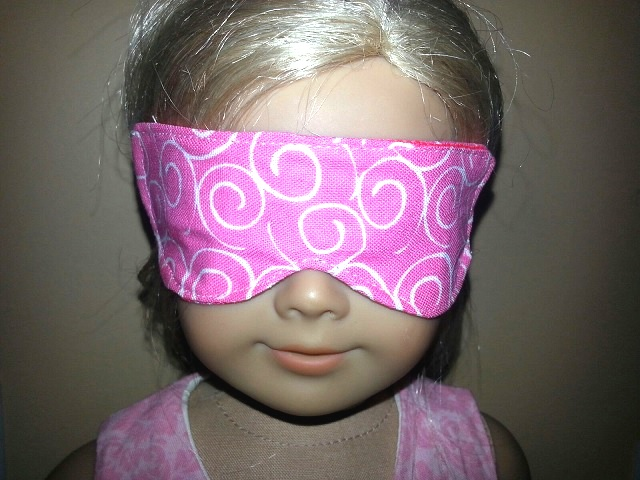 In The Hoop 18 Inch Doll Sleep Mask