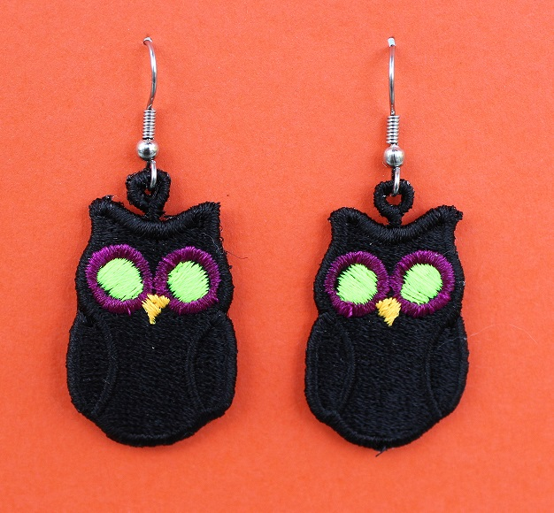 Spooky Hoot 3 Earrings