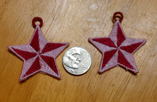 FSL Star Earrings