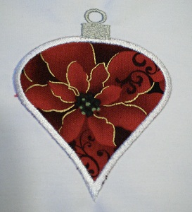 Applique Christmas Ornament 2A