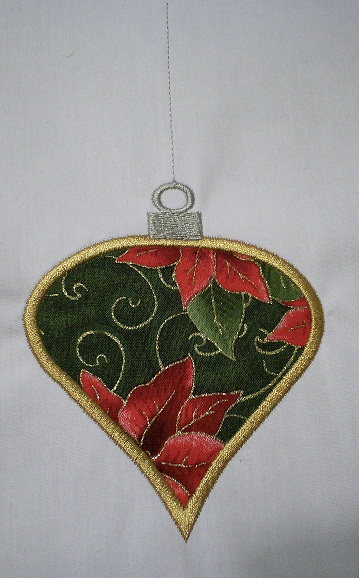 Applique Christmas Ornament 2