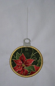 Applique Christmas Ornament 3