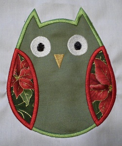 Applique Owl 1