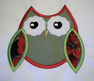 Applique Owl 2