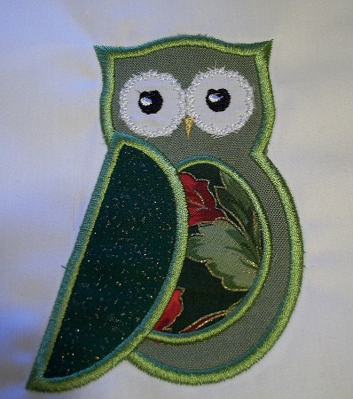Applique Owl 3