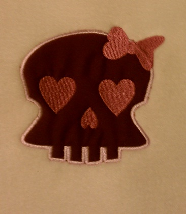 Skull Applique