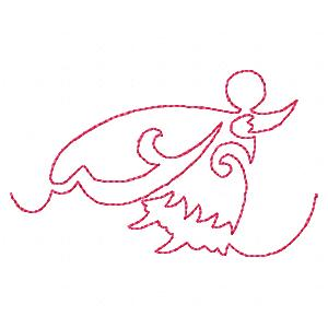 Continuous Line Fairies - Quilting Embroidery Designs