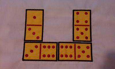 Domino Applique