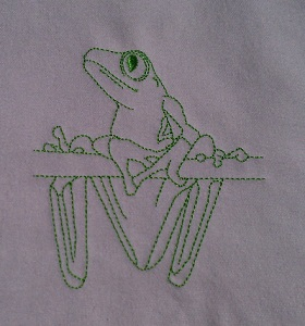 Tree Frog Lines 1