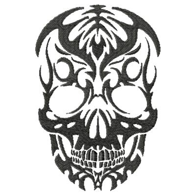Tattoo Skull Single 1