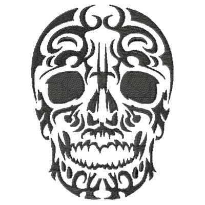 Tattoo Skull Single 2