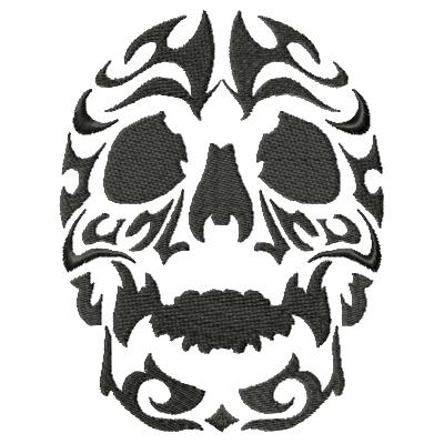 Tattoo Skull Single 3