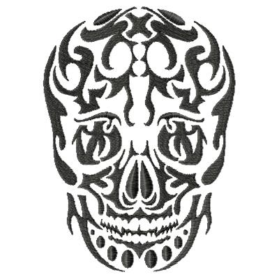 Tattoo Skull Single 4